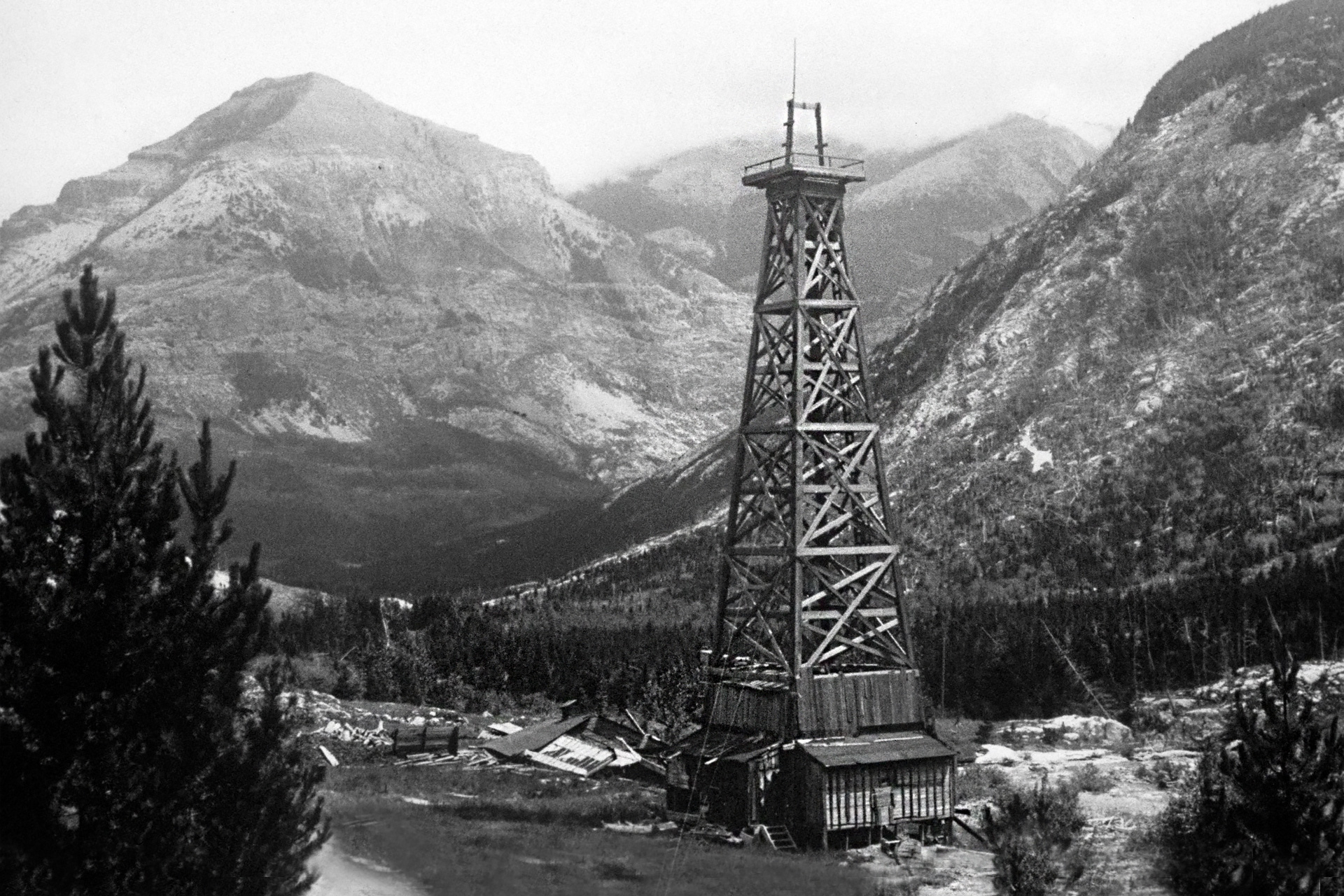 How the West was Won: Alberta's First Oil Well