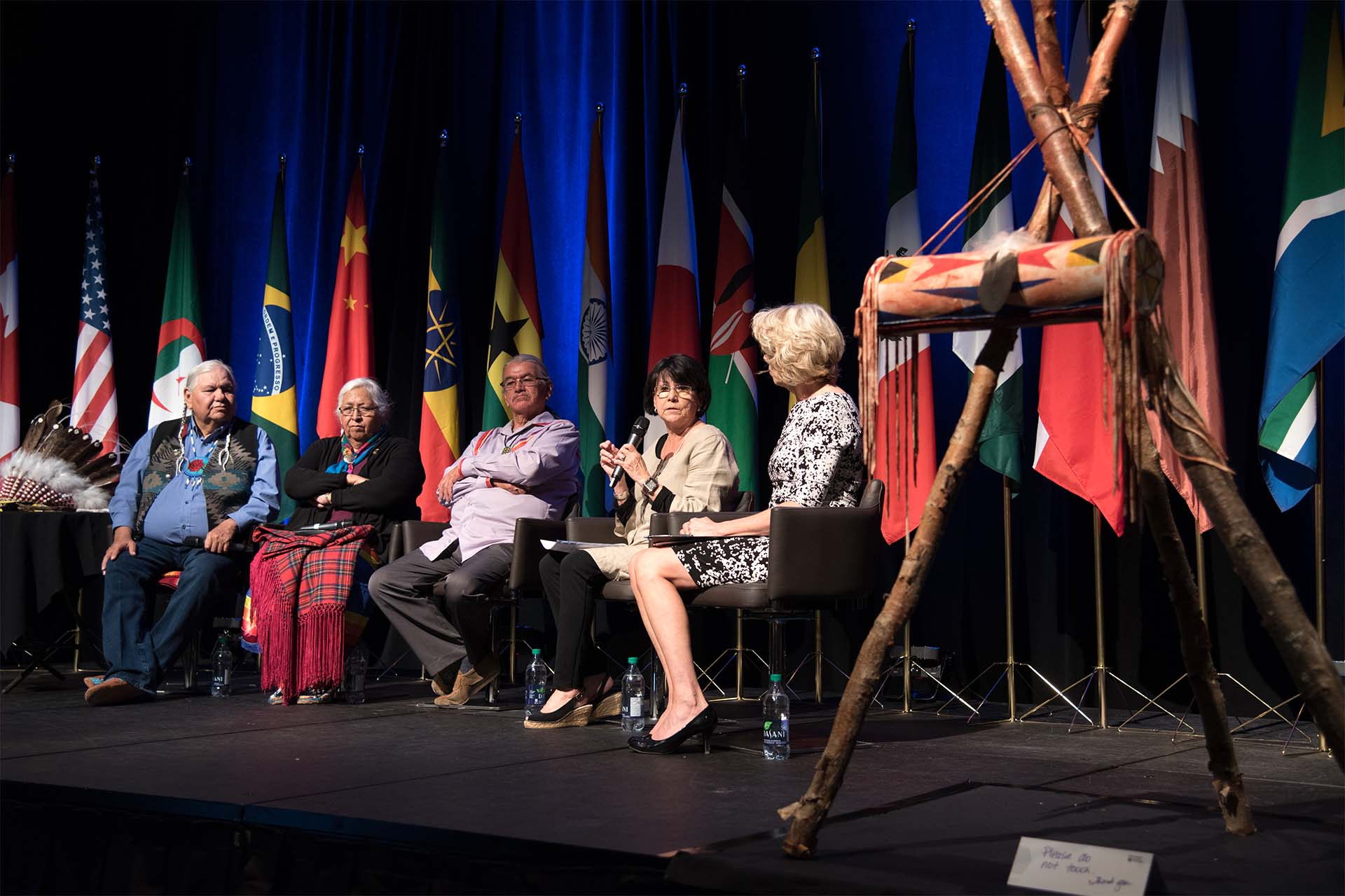 Indigenous panel global summit