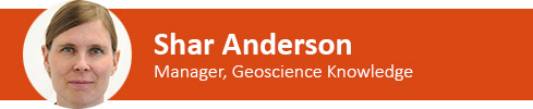 Shar Anderson Geoscience knowledge