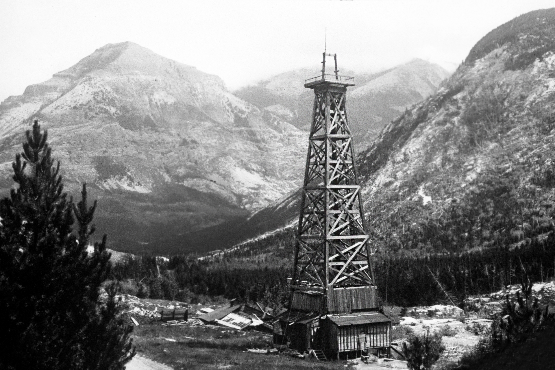 Alberta First Oil Well