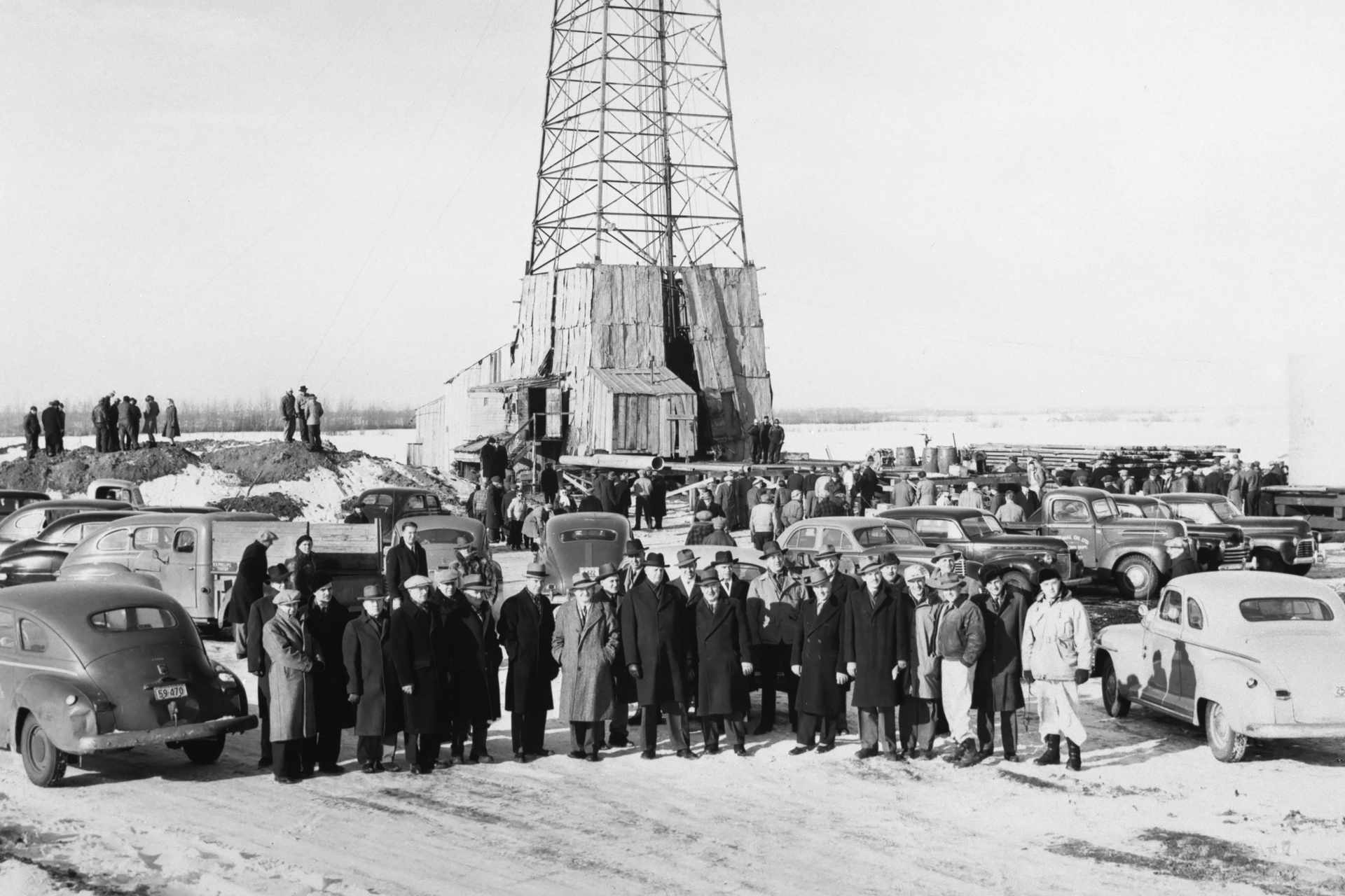 Alberta's first oil triumph is celebrated