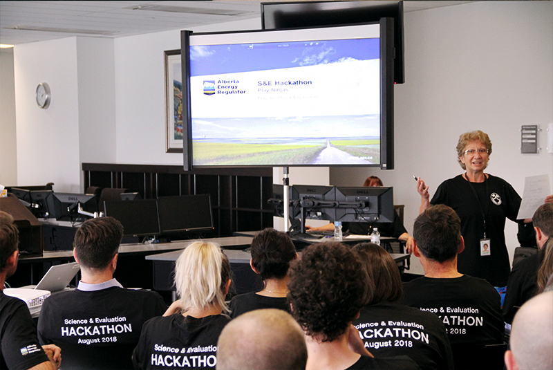 AER staff recently participated in the regulator's first hackathon